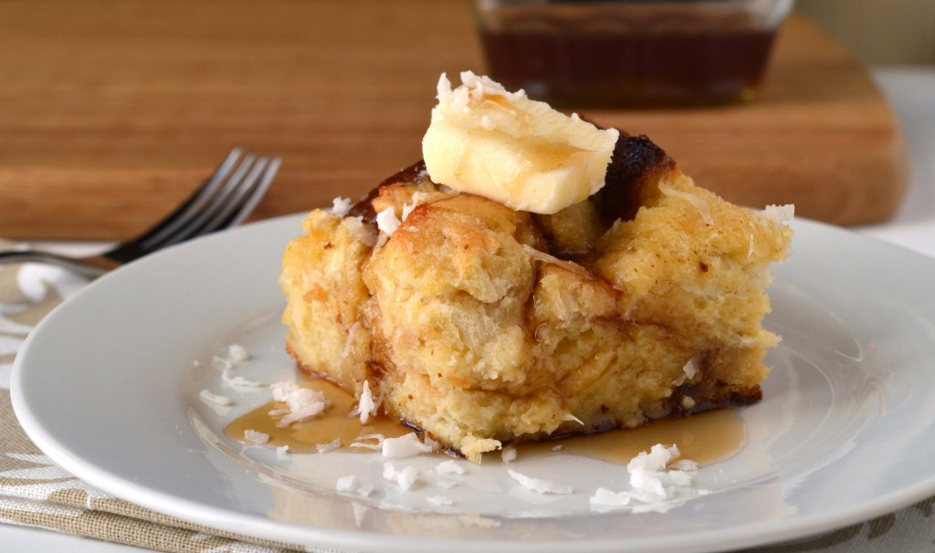 Coconut Overnight French Toast