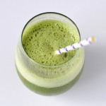 Peaches and green smoothie (Giveaway)