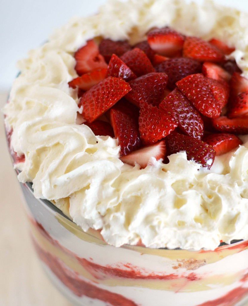 lemon berry trifle
