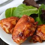 Beer brined BBQ chicken