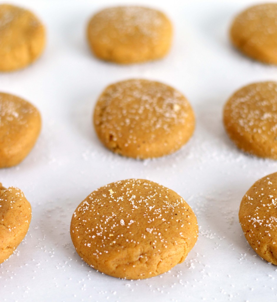 Unbaked soft ginger cookies