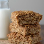 Apple cinnamon breakfast bars