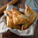 Pear and pecan turnovers