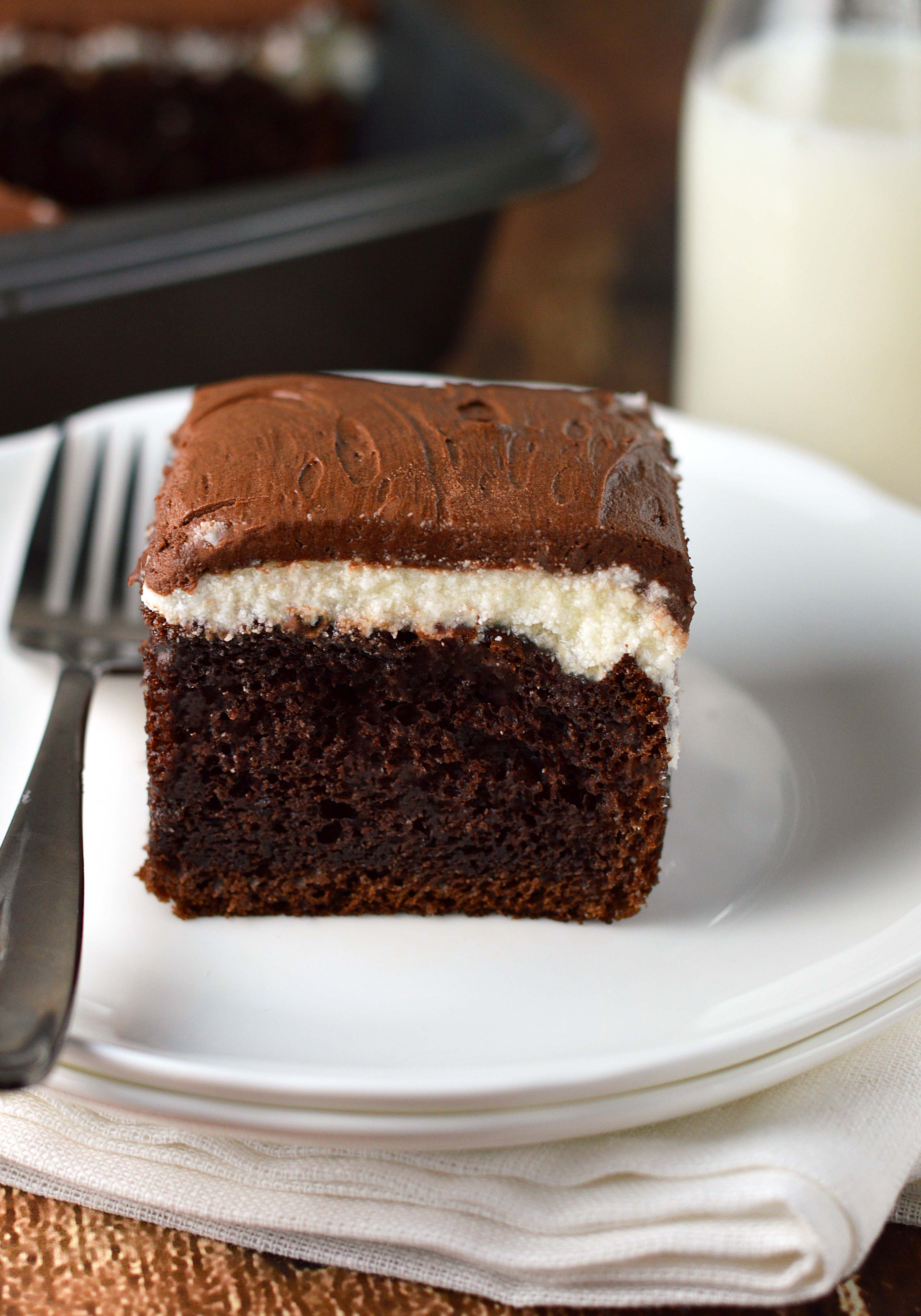 Chocolate Sour Cream Frosting With Unsweetened Chocolate