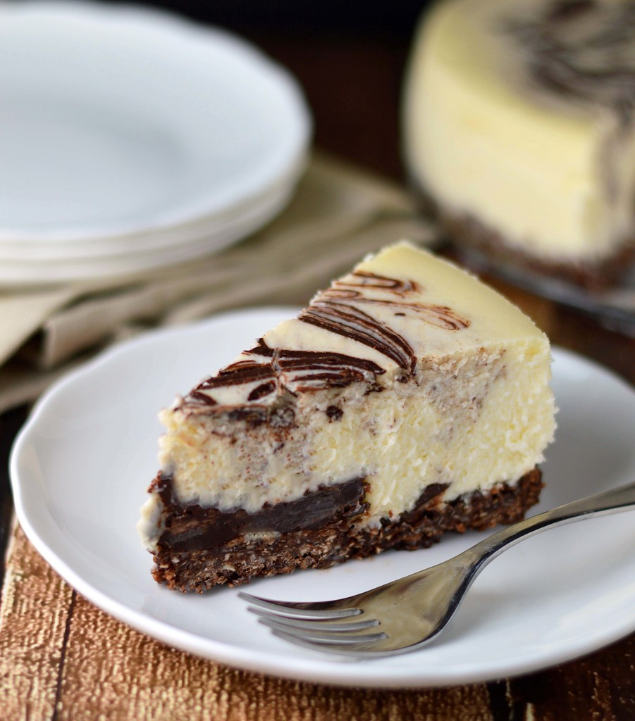 chocolate macaroon cheesecake