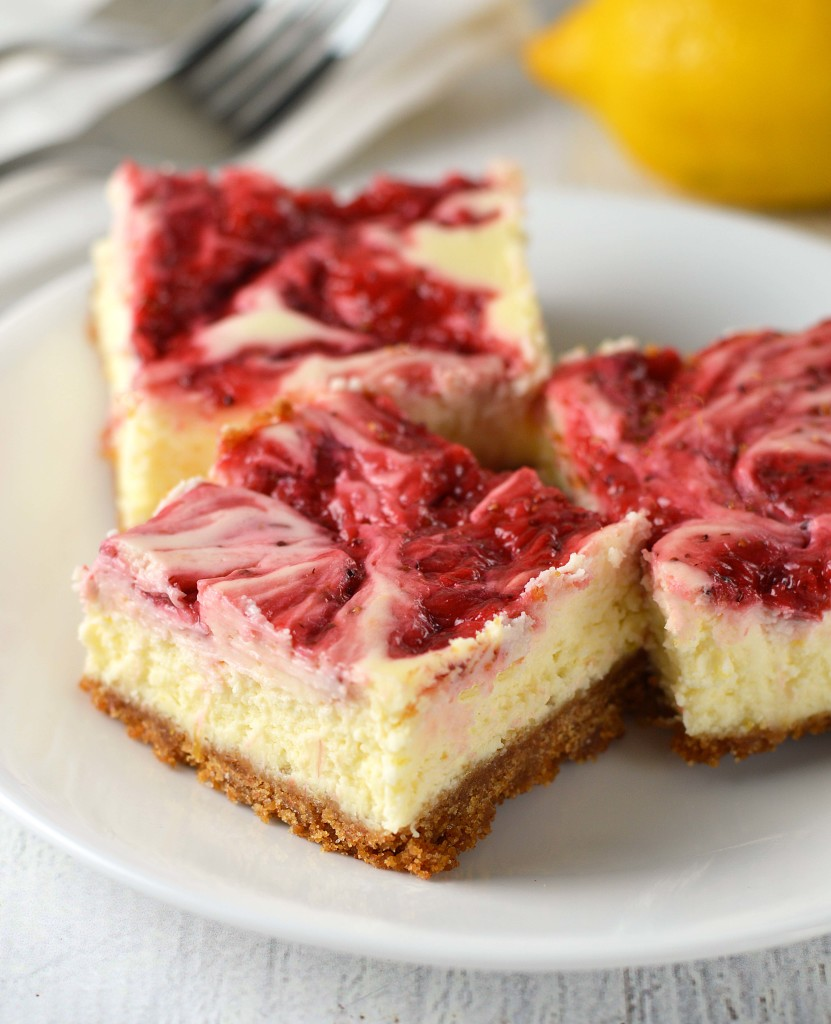 Strawberry lemonade cheesecake bars. Well, well, doesn't that just ...