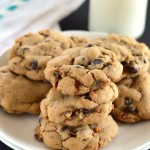 chocolate toffee pecan cookies