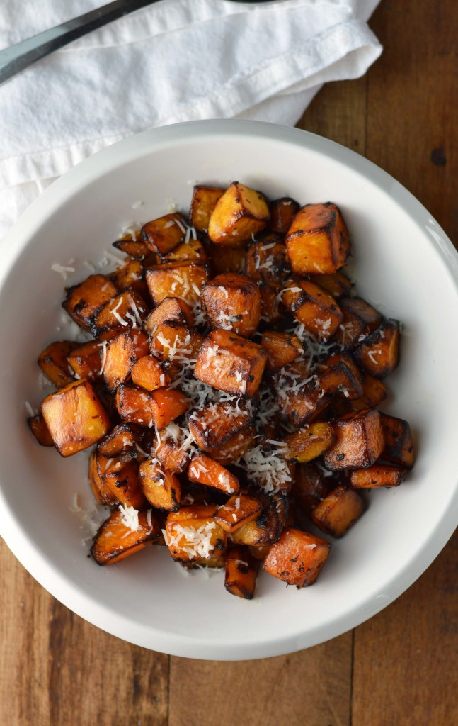Parmesan Roasted Squash Recipe — Dishmaps