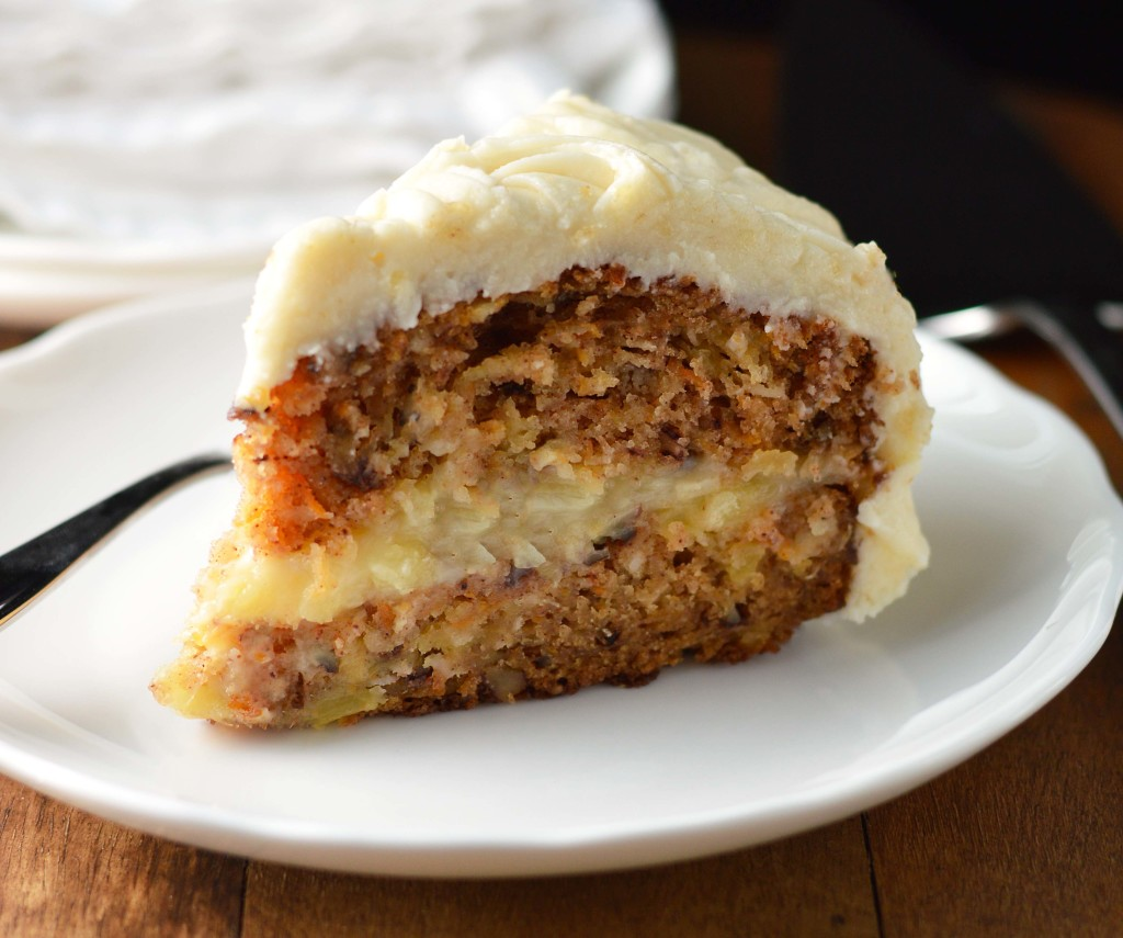 Carrot Cake For One