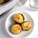 crab and blue cheese stuffed mushrooms