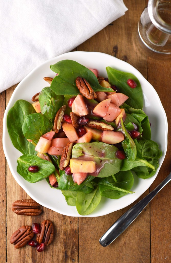 Pecan and Pomegranate Salad