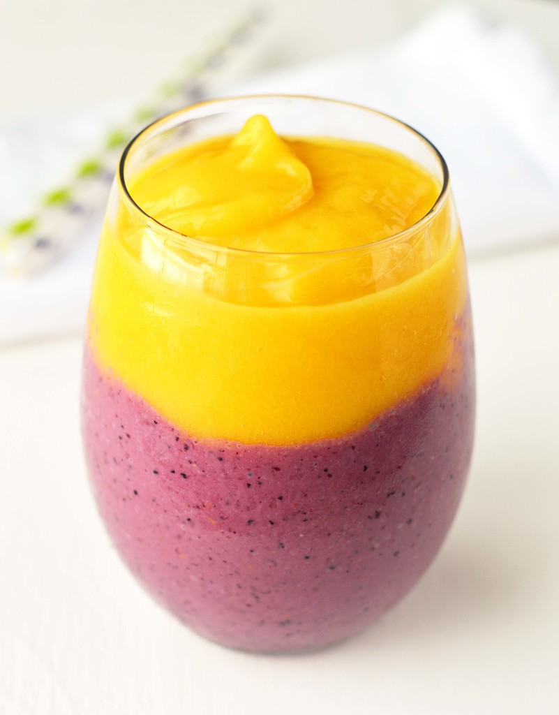 Tropical Mango Berry Smoothie