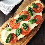Caprese French Bread Pizza