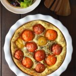Tomato and Basil Clafoutis