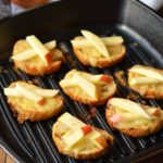 Mini Grilled Cheese with Apples and Cinnamon