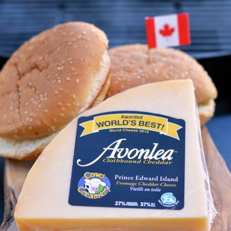 grill with Canadian Cheese