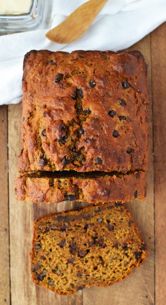 Banana Pumpkin Carrot Loaf