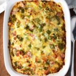 Overnight Western Hash Brown Casserole