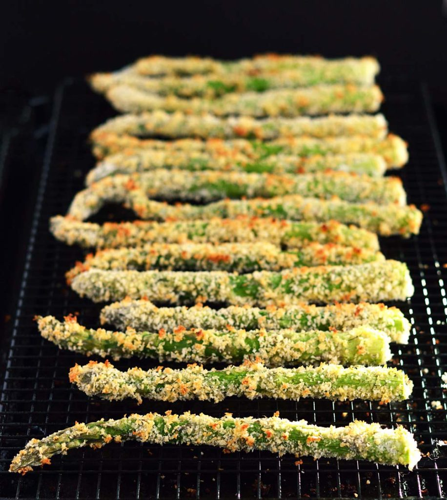 Oven Fried Asparagus