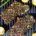 Grilled Herb Steak