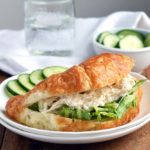 Caesar Chicken Salad Croissants